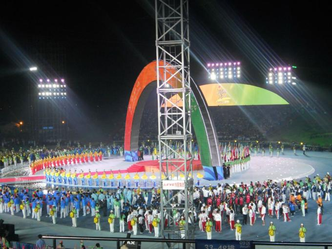 3rd Asian Beach Games Opening Ceremony