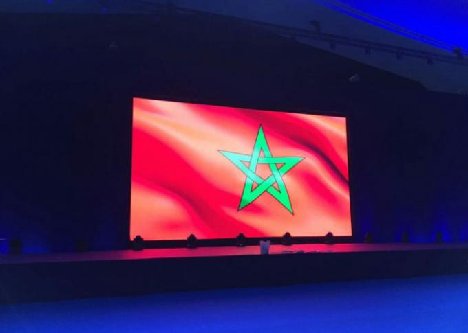 Glux LED screen rental -- COP22 meeting