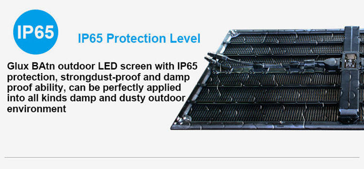 Glux LED BAtn outdoor rental LED--IP65 protection